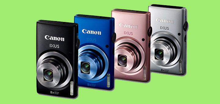 Canon IXUS 132 16mpix Zoom Ottico 8x a 67,69 Euro