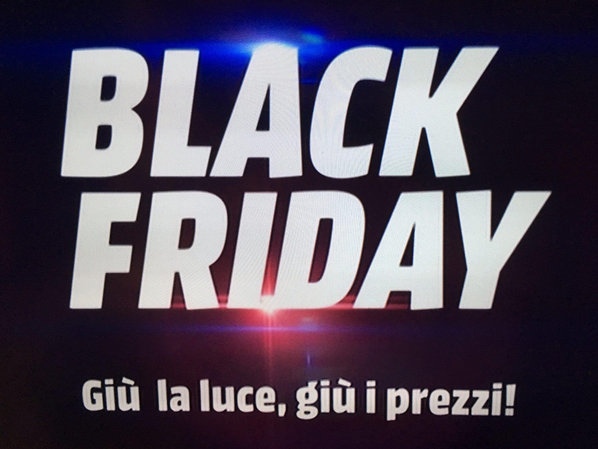 Black friday media world gi la luce gi i prezzi for Mediaworld lavatrici slim