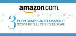 Buon compleanno Amazon