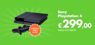 Playstation 4 a 299 Euro