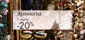 Accessorize Buono sconto 20%