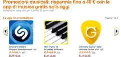 Solo per oggi 40 Euro di applicazioni musicali per Android
