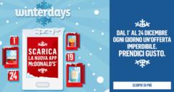 McDonald's #winterdays – 24 Dicembre – 1 Donut a 1 McMuffin a 1€ (Fine)
