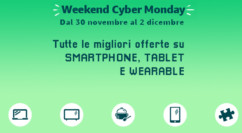 🤖 Weekend Cyber Monday Amazon | Smartphone, Tablet e Wearable: Huawei GT 109€ – Galaxy Watch 158€ – Motorola One Zoom 365€/One Vision 259€ (agg. 02/12)