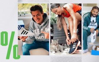 Adidas: sconto del 30% su tutto o quasi (prodotti outlet compresi)