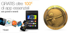 App-shop Amazon solo oggi e domani oltre 100 Euro di app gratuite