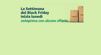 Anteprima Black Friday Week Amazon: Echo Plus 119€ – Echo 59€ – Paperwhite 99€ – Fire 7 49€ – Fire HD 8 69€