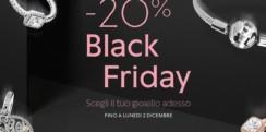 💰 Black Friday Pandora: 20% di sconto su una vasta selezione di gioielli Pandora