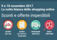 Crazy Web Shopping la notte bianca dello shopping online – 9 e 10 novembre