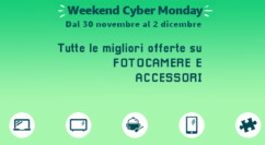 🤖 Weekend Cyber Monday Amazon | Fotocamere: Sony Alpha 6000L 399€ – Nikon D3500 Kit 499€ – Dji Osmo Pocket 2 Kit 309€