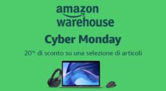 🤖 Cyber Monday Amazon: 20% di sconto su un ampia selezione tutti i prodotti usati e ricondizionati – Terminato
