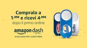 Acquista Amazon Dash Button a 1,99 Euro e ricevi 4,99 Euro dopo il primo ordine