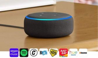 Amazon Echo Dot proposto a solo 39.99€