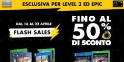 Flash Sales Gamestop fino al 22 aprile 2019