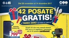 """I nuovi volantini Euronics """"Post Black Friday"""" – Tasso Zero e 42 posate in regalo…"""