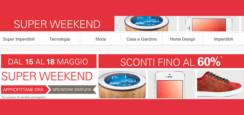 Super Weekend Ebay: tantissime offerte interessanti