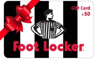 Giftcard Footlocker da 50€ cumulabile a solo 41€