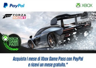 Acquista un mese di Xbox Game Pass con PayPal e ricevi un mese gratuito extra