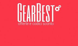 Gearbest: circa 100 offerte lampo e codici sconto per il weekend (agg. 20/07/2018)