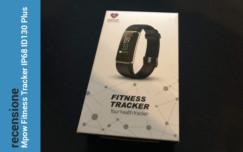 Recensione Flash Mpow Fitness Tracker IP68 ID130 Plus