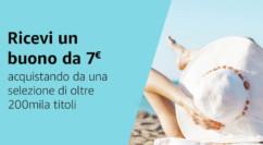 #PrimeDay – Acquista 20€ di libri e ricevi un buono Amazon da 7€ – Scade il 14/07/2019