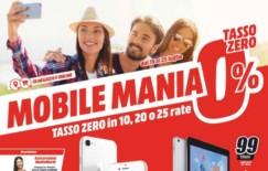 """Nuovo volantino Media World """"Mobile Mania"""""""