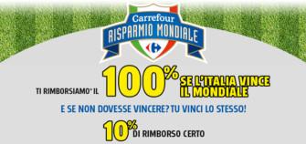 Promozione Mondiali da Carrefour: Risparmio Mondiale
