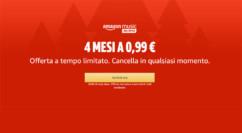 Amazon Music Unlimited: 4 mesi a 0.99€ e potete disdire quando volete – TERMINATO