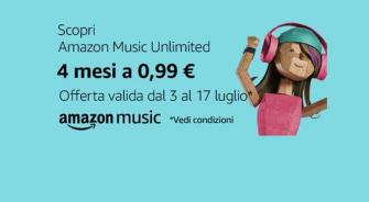 #Primeday – 4 mesi di Amazon Music a solo 0,99€