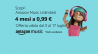 #Primeday – 4 mesi di Amazon Music a solo 0,99€