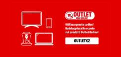 MediaWorld doppio sconto sui prodotti outlet