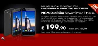 Gruppo Acquisto Coop Online: NGM Forward Prime Titanium a 199 Euro