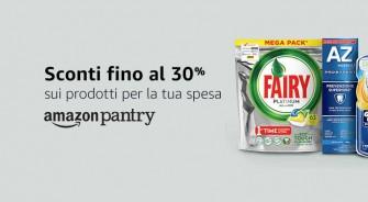 #Primeday – Sconto fino al 30% sui prodotti Amazon Pantry + 20% di sconto sui prodotti Wickedly Prime