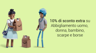 Amazon Primeday – Extra sconto del 10% sui prodotti Amazon Moda