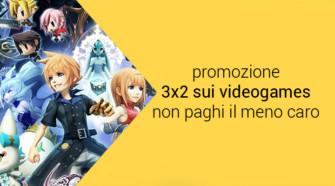 Amazon Primeday – Promozione 3×2 sui videogames