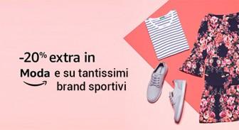 #Primeday – 20% di sconto su Moda e tantissimi brand sportivi