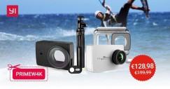 Xiaomi/YI Technology Yi 4K + Asta Selfie Bluetooth + Custodia Pelle + Custodia Subacquea a 128,98€ con codice sconto