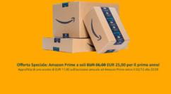 💰 Black Friday Amazon: abbonamento Prime a 25€ per il primo anno per i nuovi abbonati – Terminato