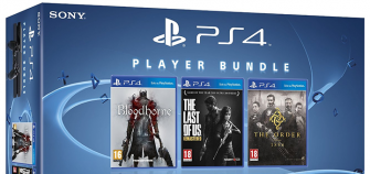 PlayStation 4: Console + The Order + Bloodborne + The Last Of Us a 449 Euro