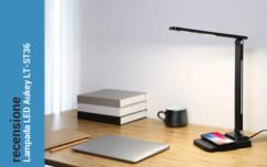 Recensione Lampada da tavolo Led con funzione di ricarica wireless Aukey