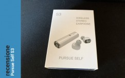 Recensione Mini Auricolari Bluetooth Senza Fili Pursue Self S3