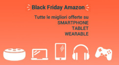 ◼️ Black Friday Amazon | Smartphone, Tablet e Wearable: Polar Vantage 169€ – Galaxy Watch 167€ – Huawei Watch 109€ – Motorola One Zoom 365€ (agg. 14.22)