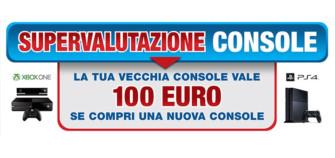"""Euronics """"supervaluta"""" le tue console"""