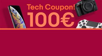 eBay: 10% di sconto su tutta l'elettronica  (massimo100€)