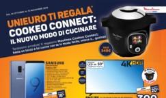 Nuovo volantino Unieuro Ti Regala Cookeo Connect (agg. 25/10/2018 Sconto del 5% acquistando online)
