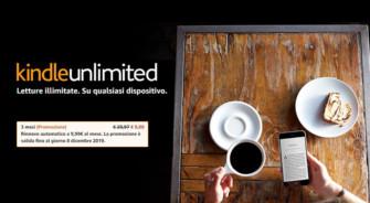 Amazon: Kindle Unlimited gratis per 3 mesi – TERMINATO