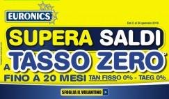 "Volatini Euronics ""Supersaldi"""