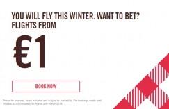 Volotea: voli a partire da 1€