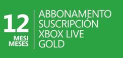 #Cybermonday Xbox Live Gold Card 12 Mesi a 32,98 Euro